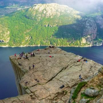 Norwegia z Nordtrip - Preikestolen