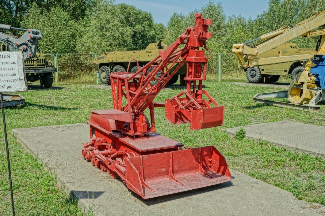 Czarnobyl - robot-likwidator