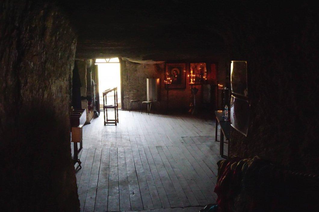 Stary Orgiejów - podziemna cerkiew