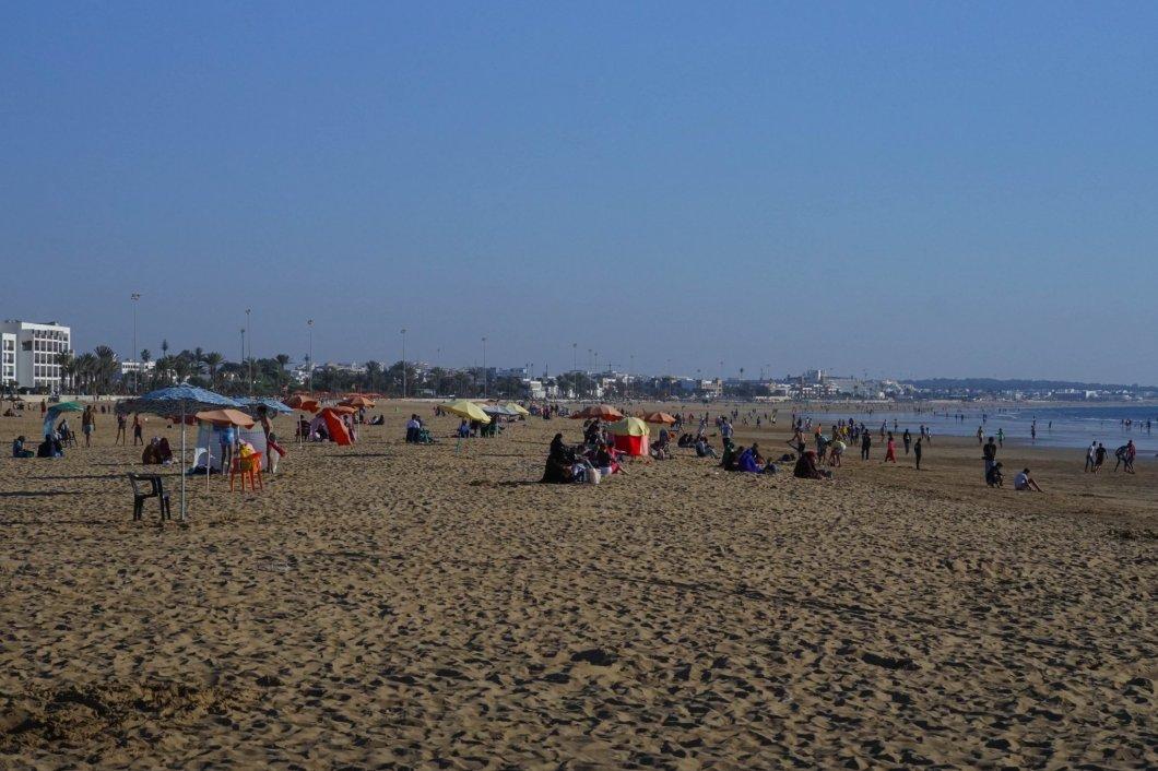 Agadir - plaża