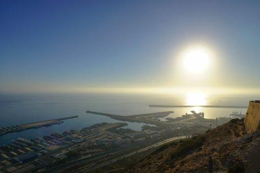 Agadir - widok ze wzgórza