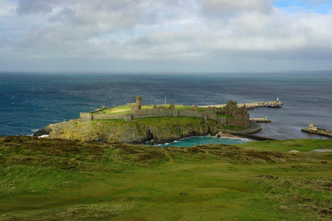Zamek Peel - Wyspa Man