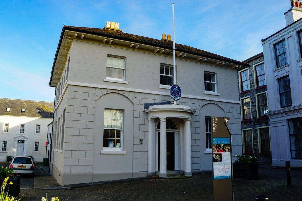 Wyspa Man - Castletown - Stary Dom Kluczy