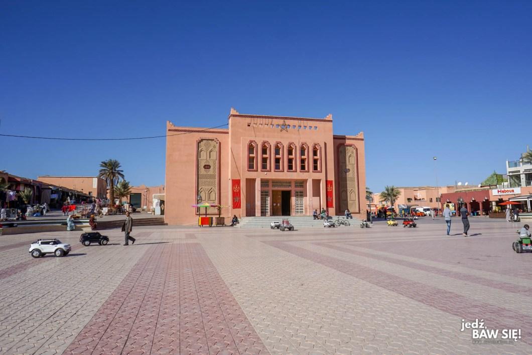 Warzazart - plac Al-Mouahidine