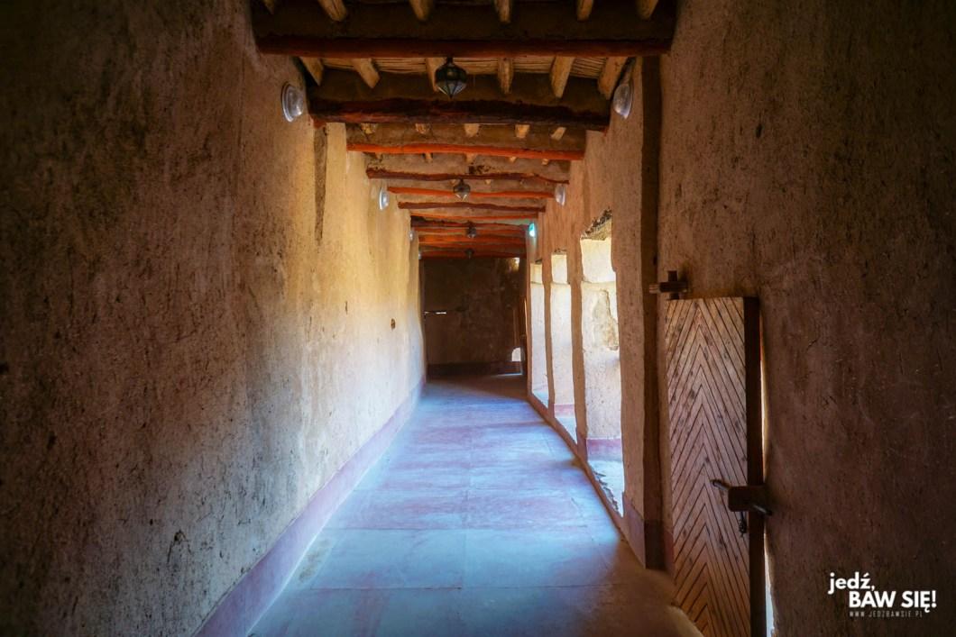 Warzazart - wnętrze Kazby Taourirt