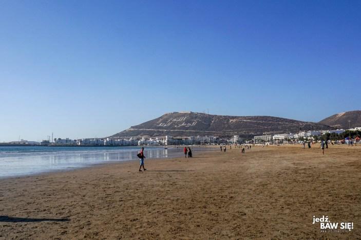 Agadir - widok na kazbę