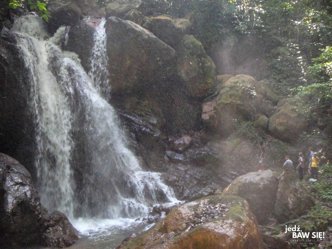 Gunung Leuser - wodospad