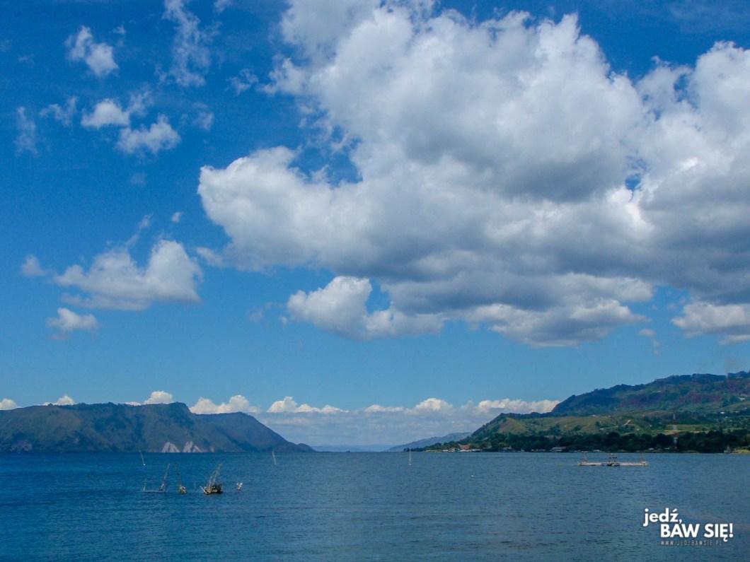 Indonezja - jezioro Toba