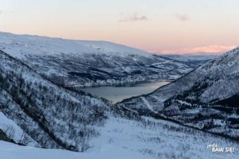 Nattmalsfjellet - widok na południe