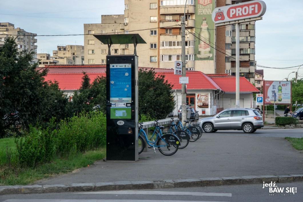 Kluż-Napoka - system rowerów miejskich