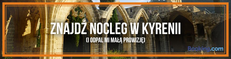 Booking.com - nocleg w Kyrenii