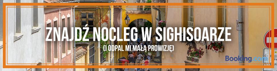 Booking.com - nocleg w Sighisoarze