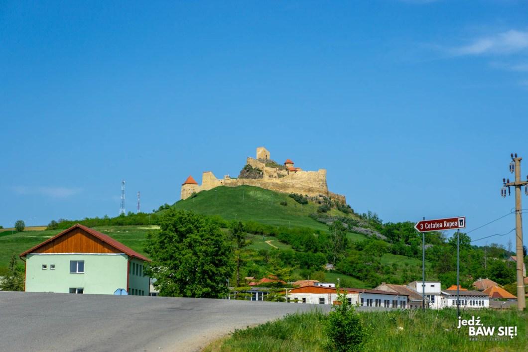 Rumunia - forteca w Rupei