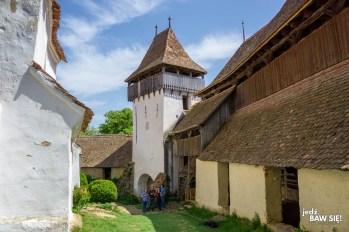 Kościoły warowne - Viscri (2)
