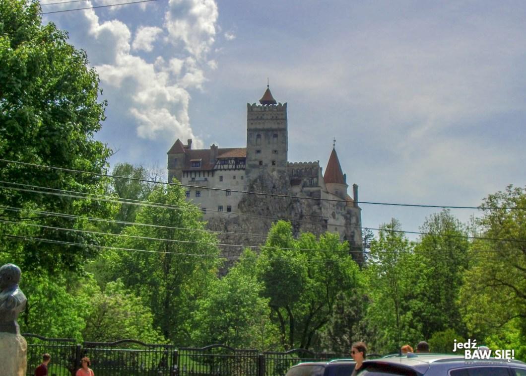 Rumunia - zamek w Branie
