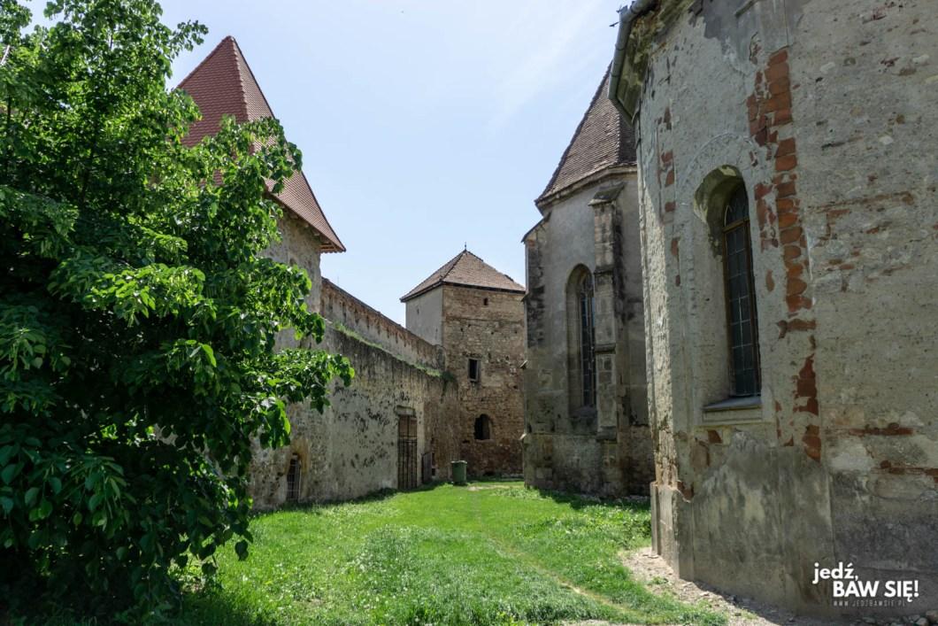 Rumunia - cytadela w Aiud