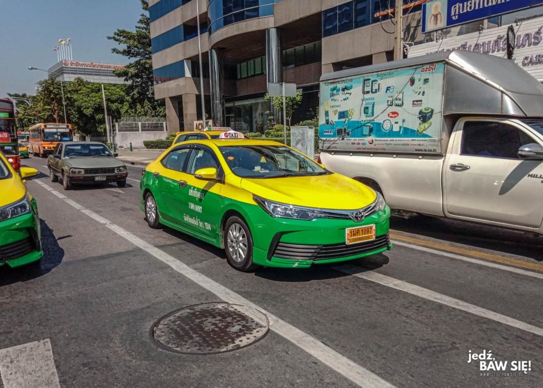 Bangkok - taksówka