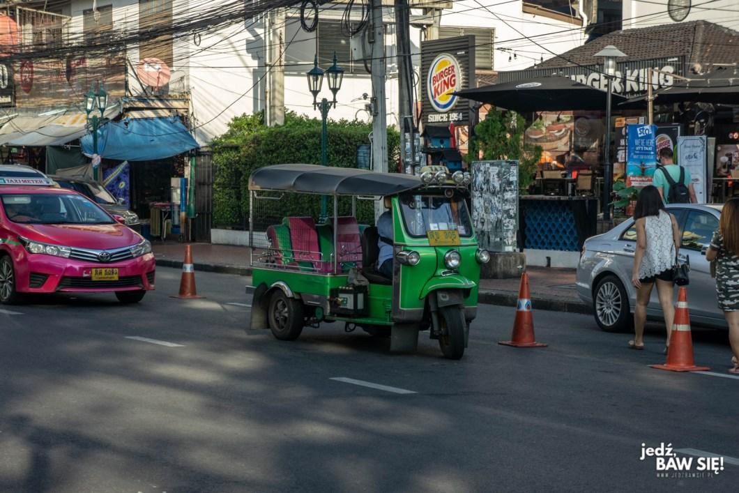 Bangkok - tuk-tuk