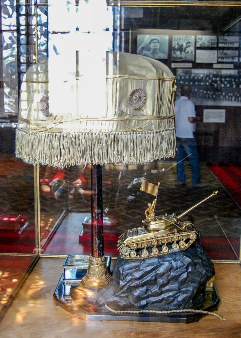 Muzeum Stalina w Gori - pamiątki