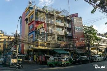Bangkok - okolice Khao San Road (1)