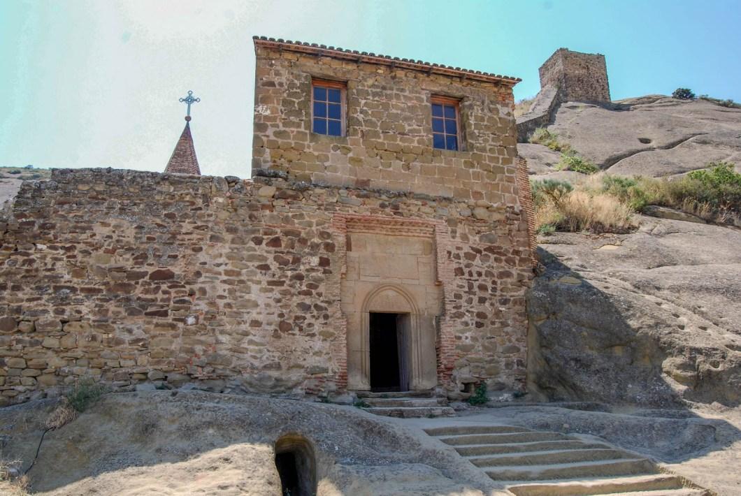 Davit Gareja - wejście do klasztoru