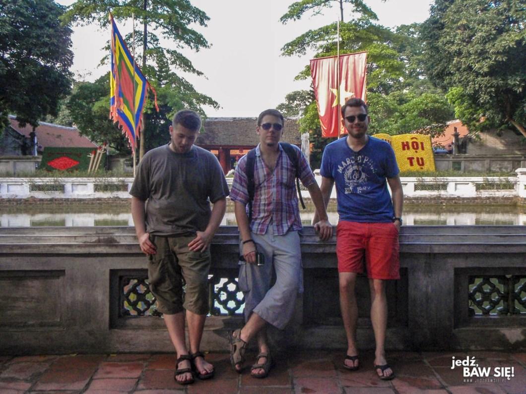 Hanoi - ekipa