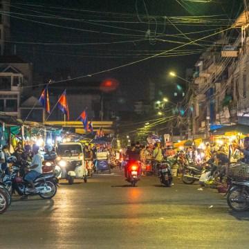 Phnom Penh - Ruski Targ