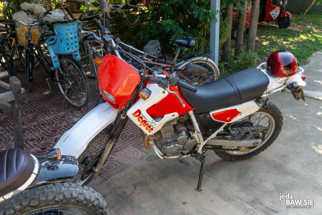 Motocykl Brewy - Kambodża