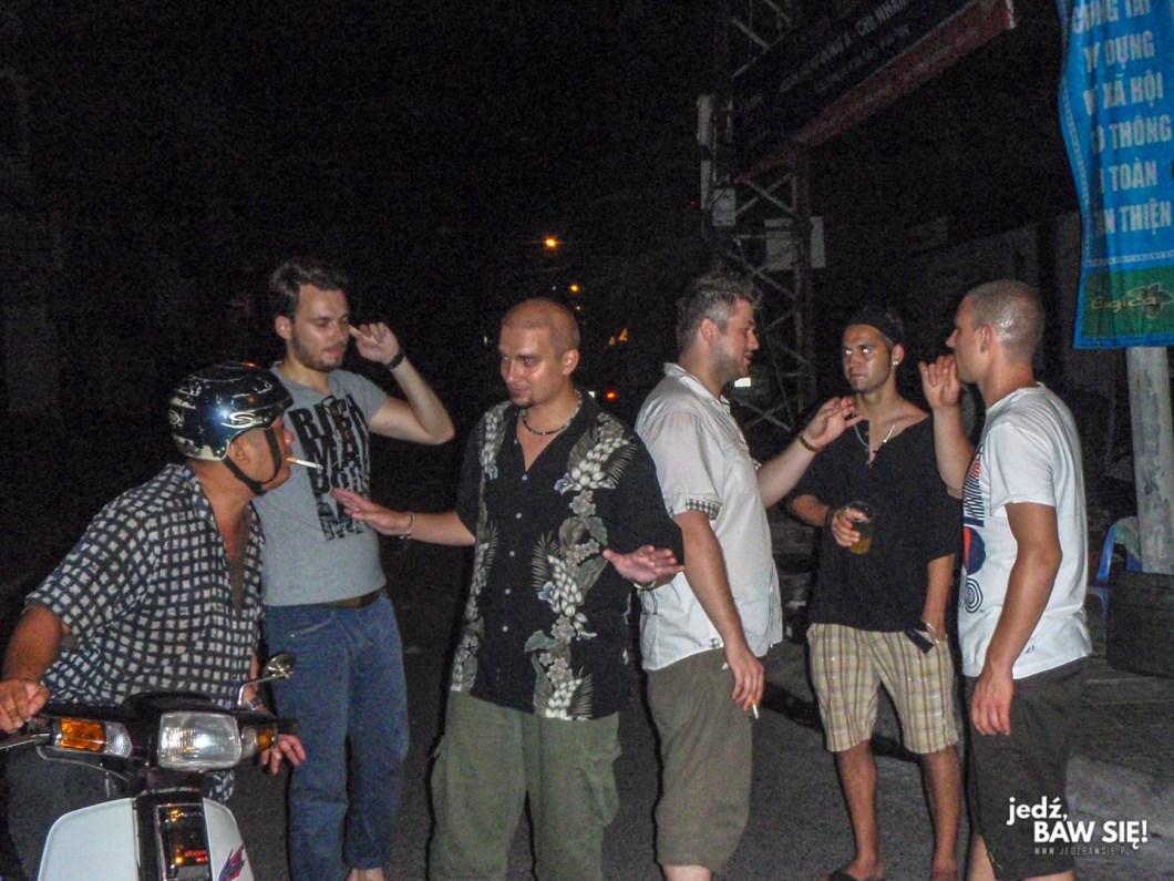Nha Trang - uliczna imprezka