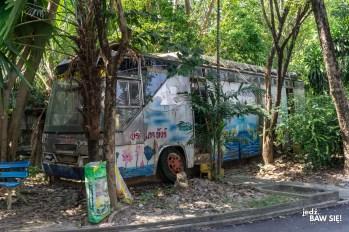Wat Samphran - autobus