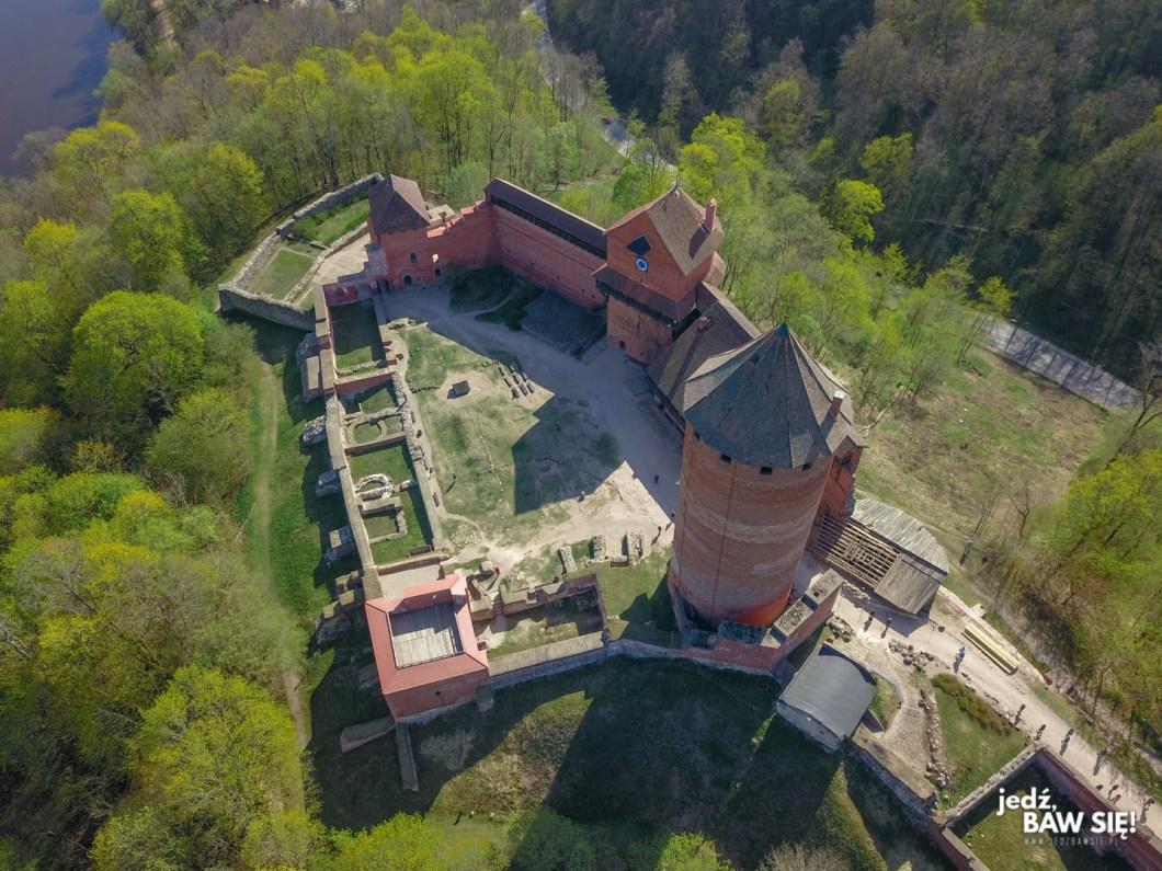 Łotwa - zamek w Turaidzie