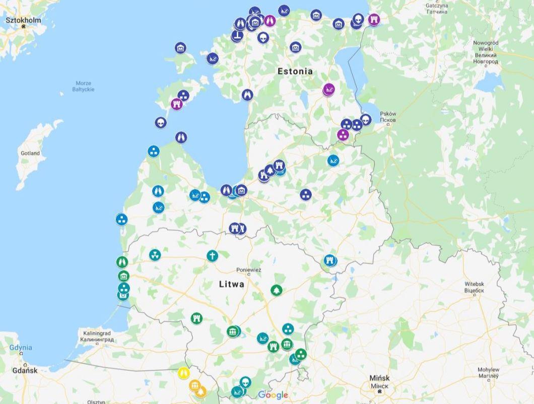 Mapka - Pribaltiki 2019 - plan