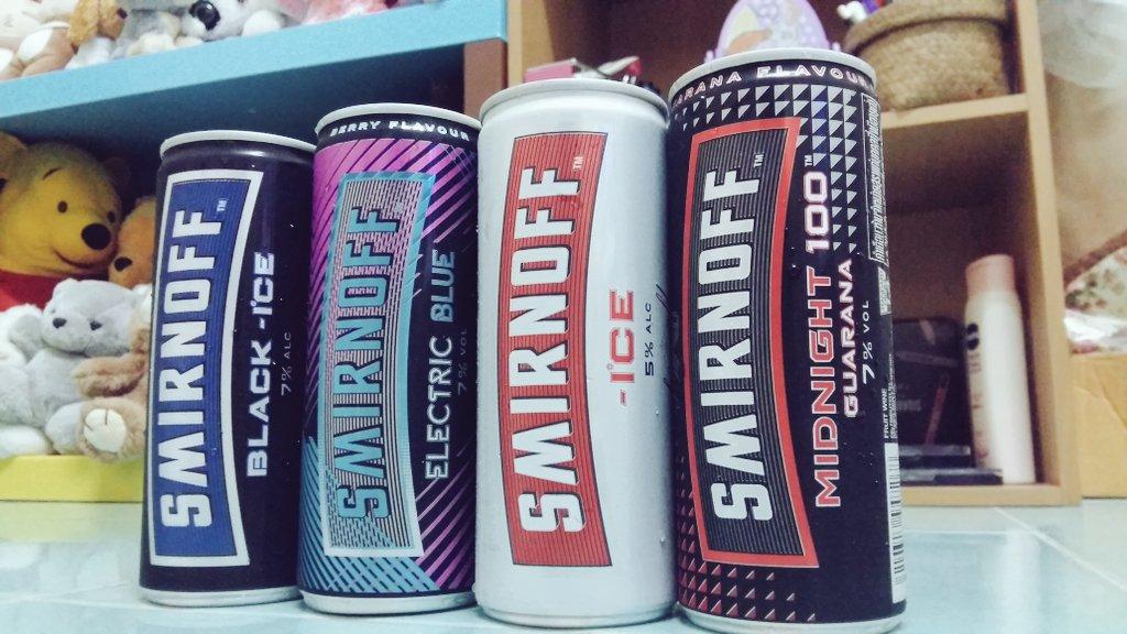 Tajlandia - Smirnoff Ice