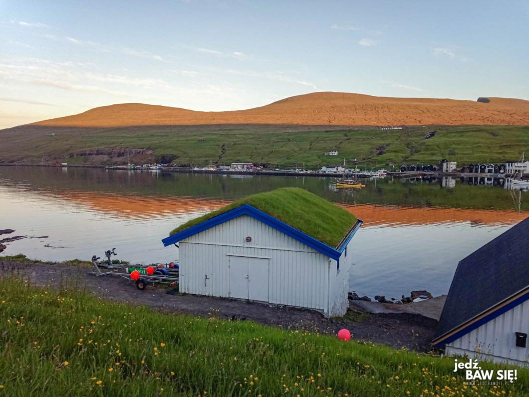 Późny wieczór na Wyspach Owczych