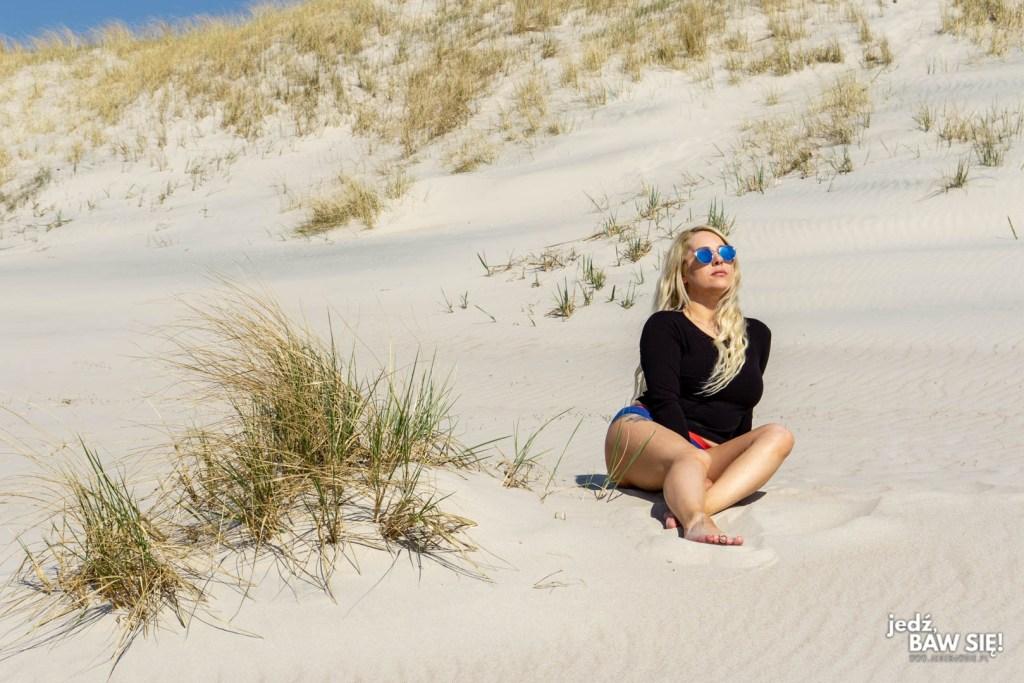 Mierzeja Kurońska - plaża