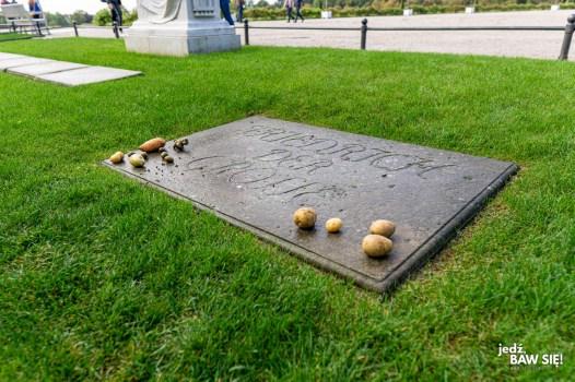 Sanssouci - grób Fryderyka Wielkiego