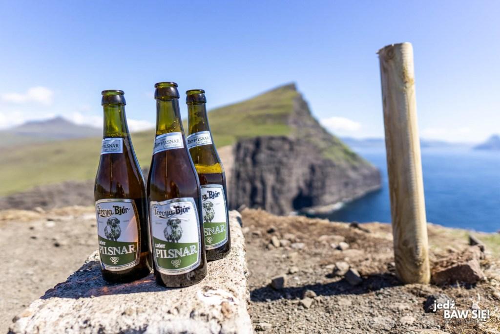 Wyspy Owcze - piwo w plenerze