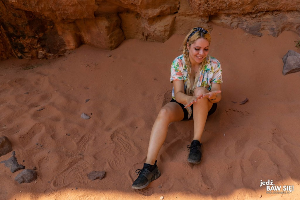 Agatka na Wadi Rum