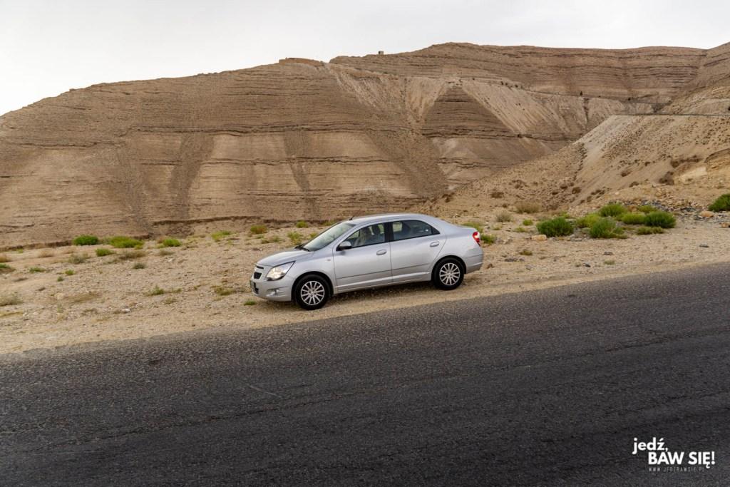 Jordania - nasz samochód