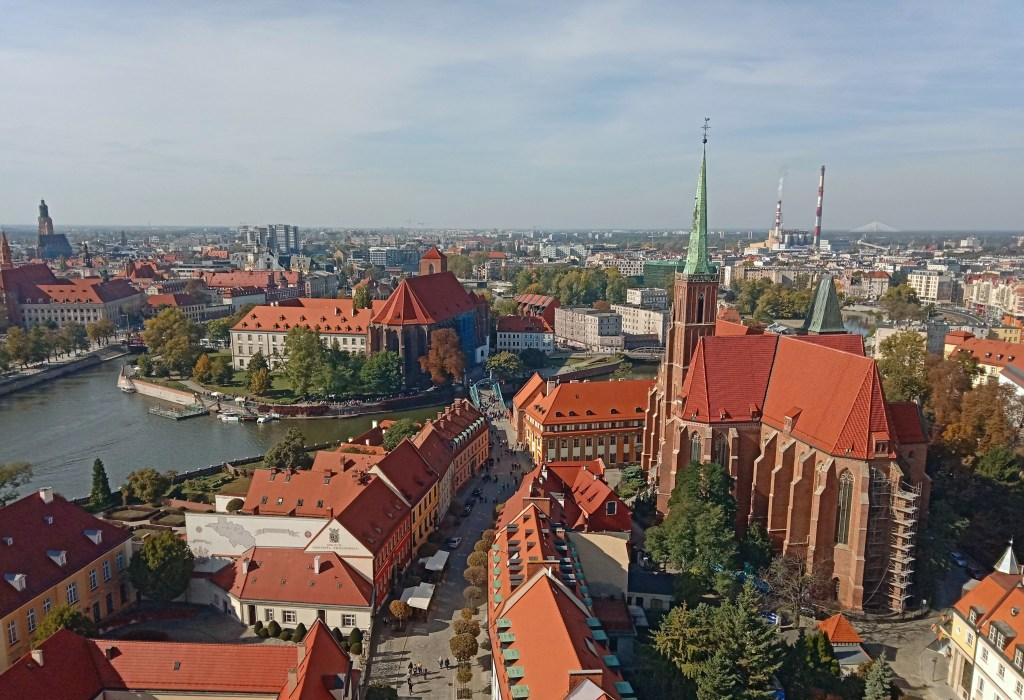 Wrocław z Katedry