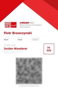 Jordan Pass - przykład