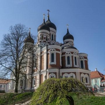 Tallin - katedra Aleksandra Newskiego