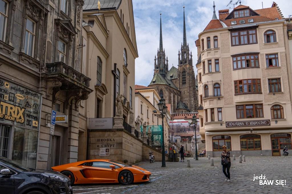 Czechy - Lamborghini w Brnie