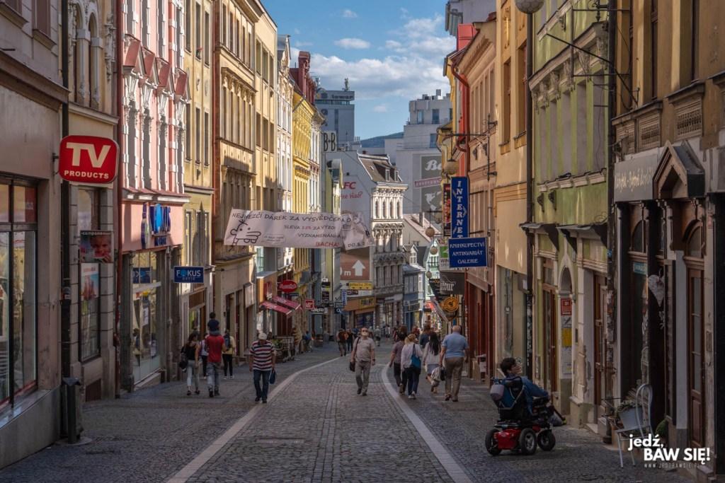 Czechy - Liberec p jedna z ulic