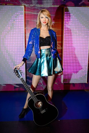 Taylor Swift Wax Figure Unveiling at Madame Tussauds Berlin