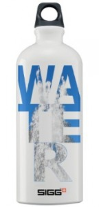 SIGG Water Bottle with Shireen's Water Design
