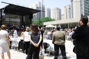 BIST Brain injury awareness month crowd in 2010