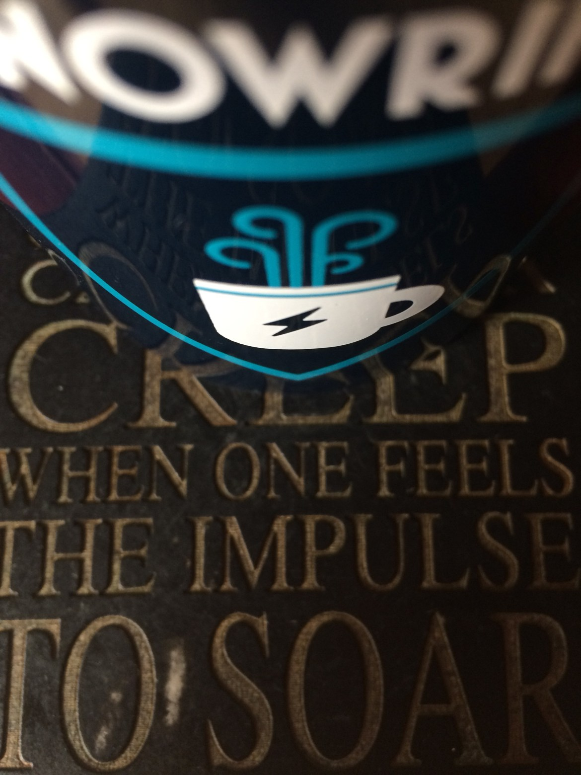 Why creep when feel impulse to soar
