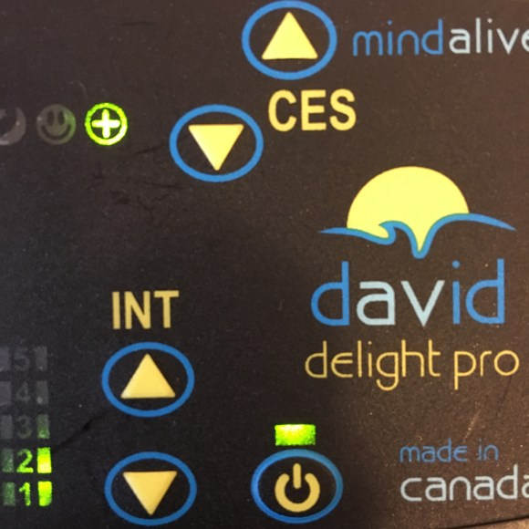 DAVID Delight Pro with first gamma session light on