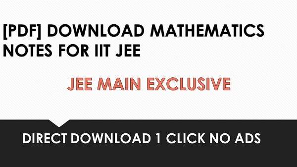 PDF] DOWNLOAD MATHEMATICS CHAPTERWISE TEST PAPERS | JEEMAIN GURU